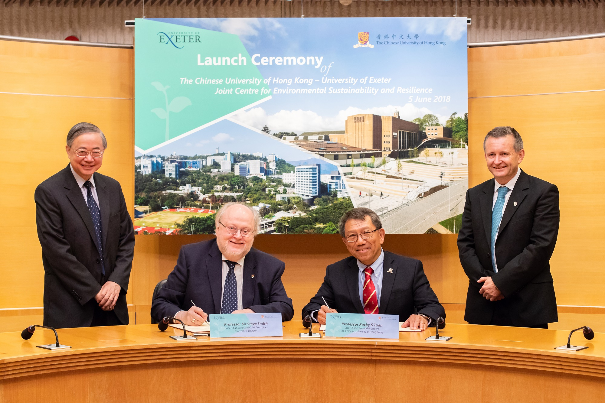 CUHK – University of Exeter Joint Centre for Environmental Sustainability and Resilience (ENSURE)