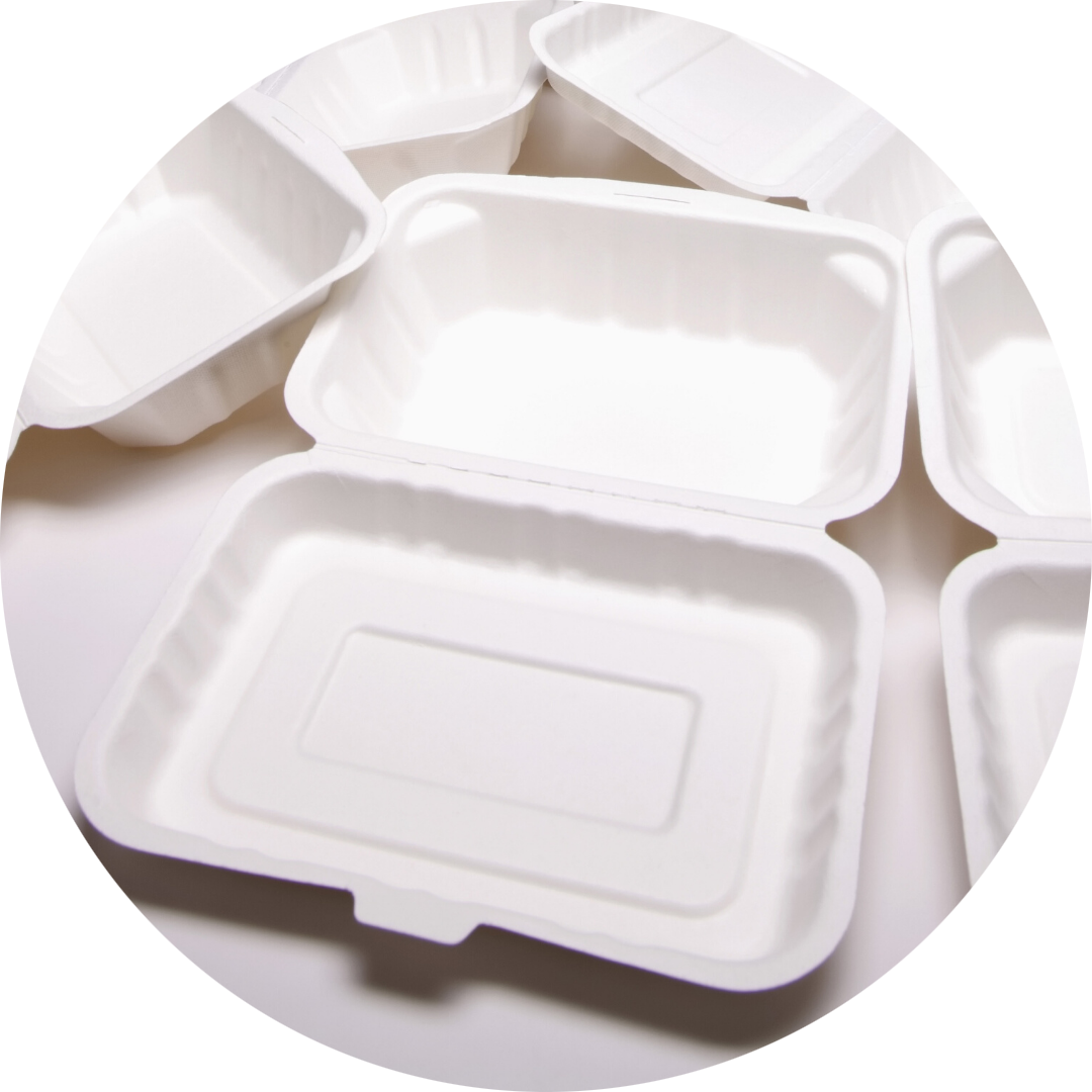 Polyfoam meal containers